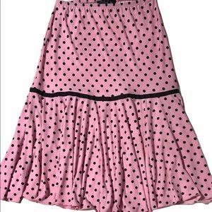 ⭐️⭐️🇨🇦Plum Collection Polka Dot Skirt